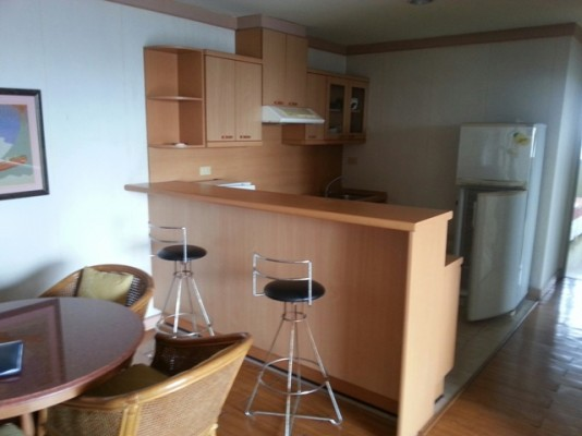BKKMOVE Agency's 85sqm Well price, Convenient Two Bedrooms Condo to let at Waterford Diamond 30/1 1