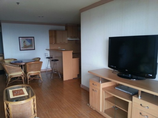 BKKMOVE Agency's 85sqm Well price, Convenient Two Bedrooms Condo to let at Waterford Diamond 30/1 3