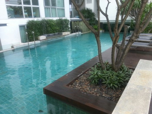 BKKMOVE Agency's 58sqm Spacious, Low Rise One Bedroom Condo to let at The Fine Ari soi 4 9