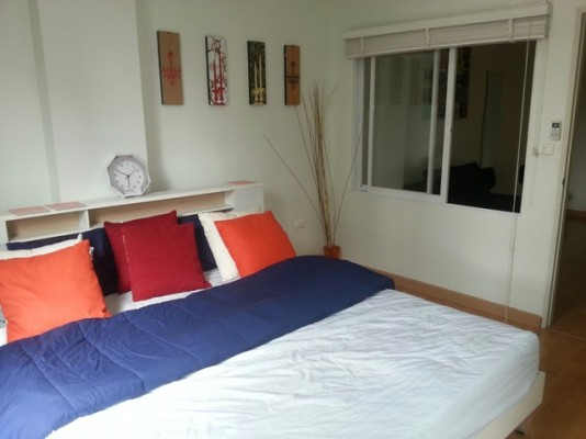 BKKMOVE Agency's 41sqm Modern, Beautiful One Bedroom Condo to let at Life Ratchada 1