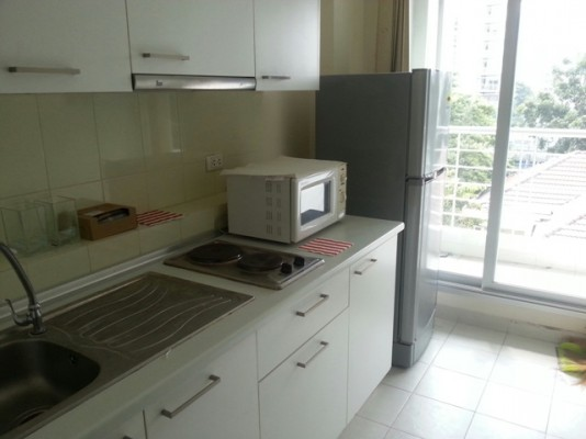 BKKMOVE Agency's 41sqm Modern, Beautiful One Bedroom Condo to let at Life Ratchada 4