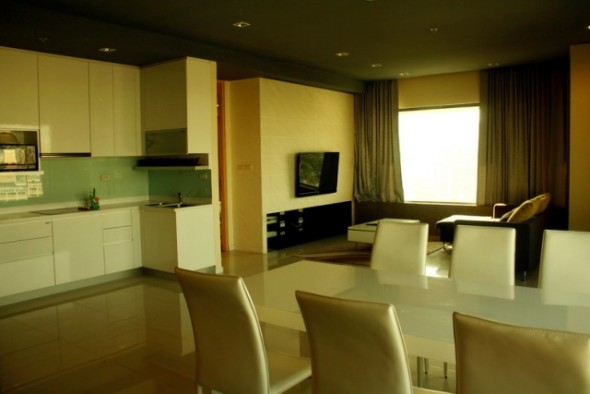 BKKMOVE Agency's 120.82sqm Modern, Luxury Two Bedrooms Condo for rent at Amanta Lumpini 5