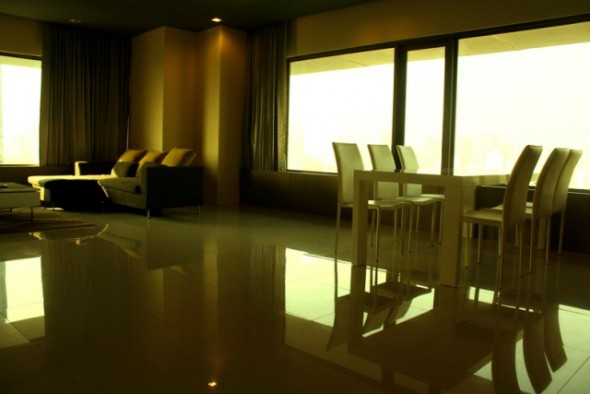 BKKMOVE Agency's 120.82sqm Modern, Luxury Two Bedrooms Condo for rent at Amanta Lumpini 7