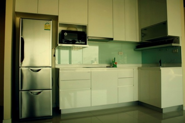 BKKMOVE Agency's 120.82sqm Modern, Luxury Two Bedrooms Condo for rent at Amanta Lumpini 10