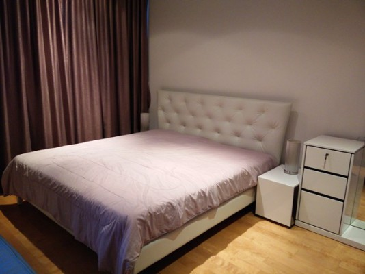 BKKMOVE Agency's 40sqm Cozy, Trendy Studio Condo to let at Villa Ratchathewi 2