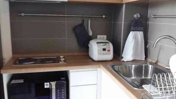 BKKMOVE Agency's 35sqm Brand New, Cozy One Bedroom Flat to let at U Delight Residence 8