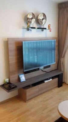 BKKMOVE Agency's 35sqm Brand New, Cozy One Bedroom Flat to let at U Delight Residence 6