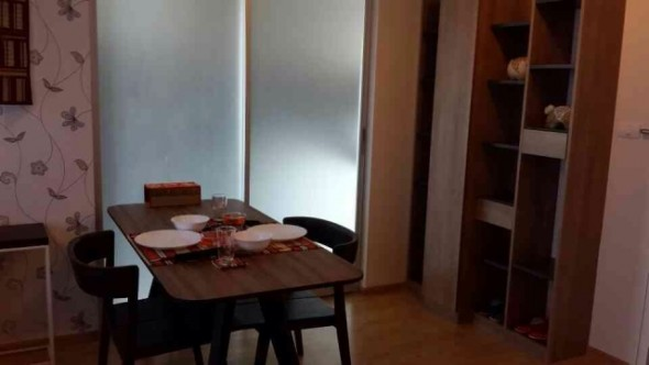 BKKMOVE Agency's 35sqm Brand New, Cozy One Bedroom Flat to let at U Delight Residence 5