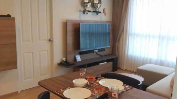 BKKMOVE Agency's 35sqm Brand New, Cozy One Bedroom Flat to let at U Delight Residence 4
