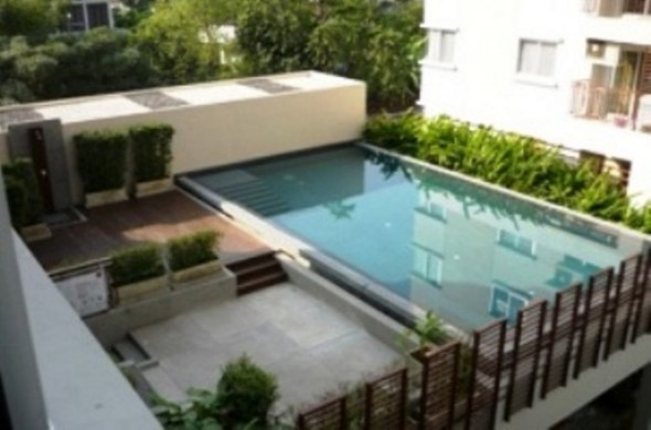 BKKMOVE Agency's 50sqm Low Rise, Nice One Bedroom Apartment to let at Condo One Siam 9