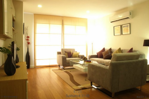 BKKMOVE Agency's 220sqm Spacious, Beautiful Three Bedrooms Apartment to let at Prime Mansion Sukhumvit 31 2
