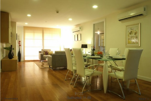 BKKMOVE Agency's 220sqm Spacious, Beautiful Three Bedrooms Apartment to let at Prime Mansion Sukhumvit 31 3