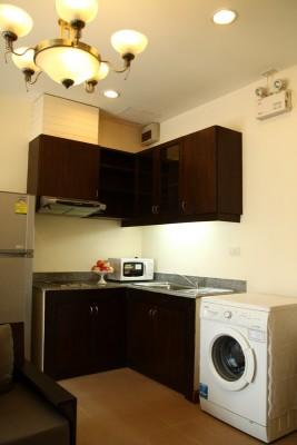 BKKMOVE Agency's 50sqm Convenient, Cozy One Bedroom Apartment to let at Sarin Suites Sukhumvit Bangkok 5