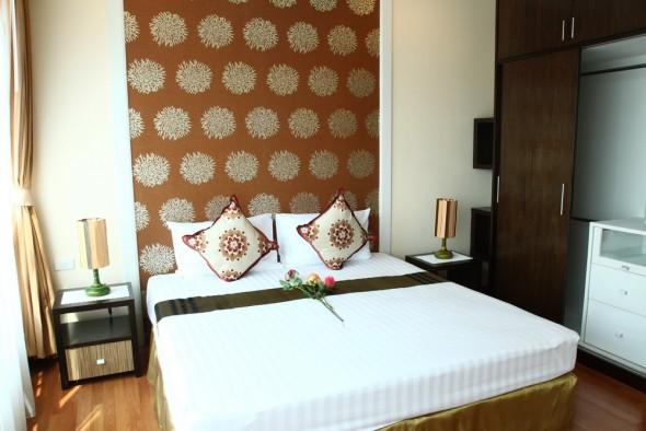 BKKMOVE Agency's 50sqm Convenient, Cozy One Bedroom Apartment to let at Sarin Suites Sukhumvit Bangkok 7
