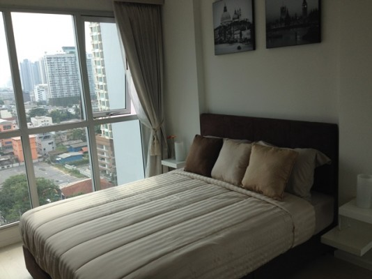BKKMOVE Agency's 35sqm Cozy, Brand New One Bedroom Apartment to let at Rhythm Sathorn-Narathiwas 3