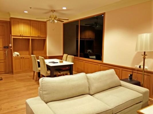 BKKMOVE Agency's 98sqm Spacious, Beautiful Two Bedrooms Condo for rent at Baan Klang Krung Siam Patumwan 10