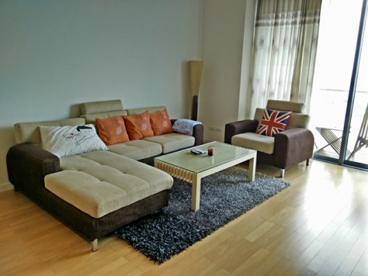 BKKMOVE Agency's 107sqm River View, Luxury Two Bedrooms Condo to let at The Pano 3