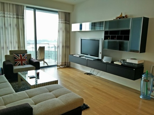 BKKMOVE Agency's 107sqm River View, Luxury Two Bedrooms Condo to let at The Pano 4