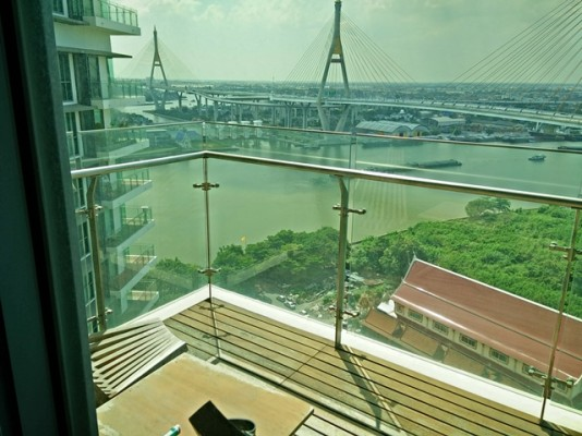 BKKMOVE Agency's 107sqm River View, Luxury Two Bedrooms Condo to let at The Pano 8