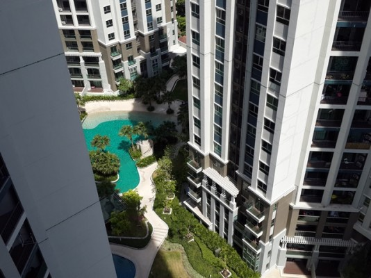 BKKMOVE Agency's 101sqm Brand New, Spacious Three Bedrooms Condo for Rent at Bell Grand Rama 9 7