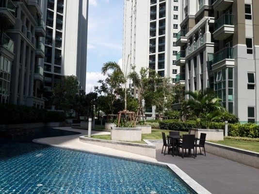 BKKMOVE Agency's 101sqm Brand New, Spacious Three Bedrooms Condo for Rent at Bell Grand Rama 9 10