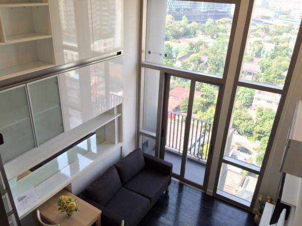 BKKMOVE Agency's 35sqm Cozy, Duplex Studio Condo to let at Ideo Morph 3