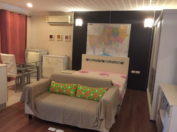 BKKMOVE Agency's 28.74sqm Well price, Nice Studio For Sale at Modern Sweet Home 10