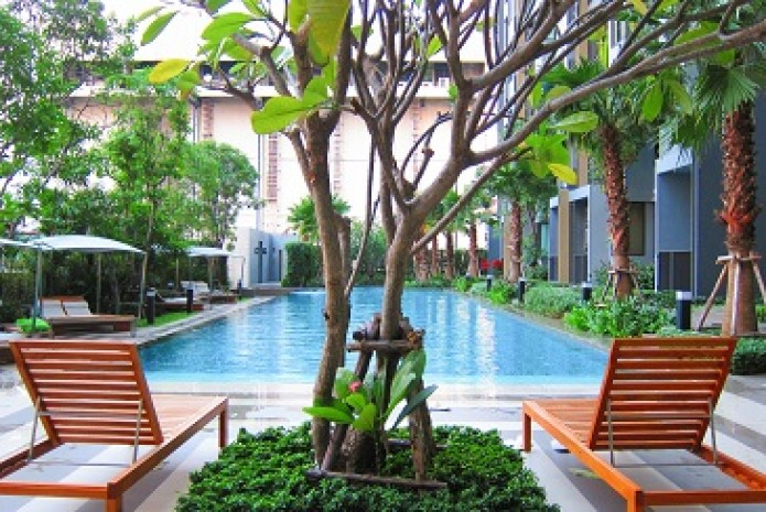 BKKMOVE Agency's 30sqm Cozy, High Rise One Bedroom Apartment to let at Q House Sukhumvit 79 1
