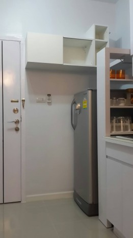 BKKMOVE Agency's 35 sqm Beautiful Nice 1 bedroom condominium at A Space Asoke Ratchada. 10