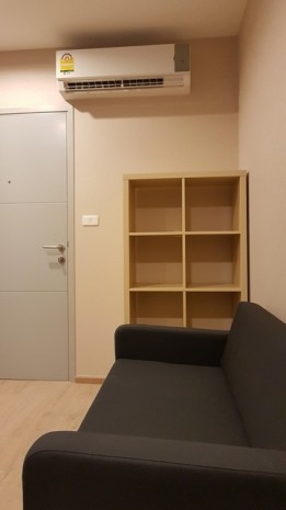 BKKMOVE Agency's 22sqm Cozy, Brand New Studio Apartment for rent at Ideo Wutthagard 1