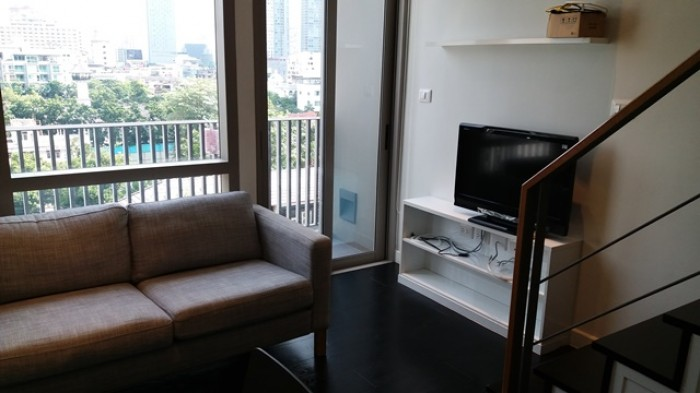 BKKMOVE Agency's 38sqm Private, Lovely Studio Duplex Condo for rent at Ideo Morph Sukhumvit 38 6