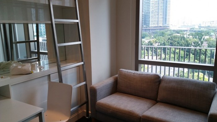 BKKMOVE Agency's 38sqm Private, Lovely Studio Duplex Condo for rent at Ideo Morph Sukhumvit 38 3