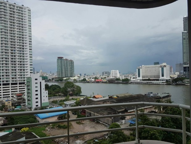 BKKMOVE Agency's Watermark Chaophraya River Condo ,River view low floor 105 sqm 2 bedroom 2 bathroom for rent/sale well price! 1