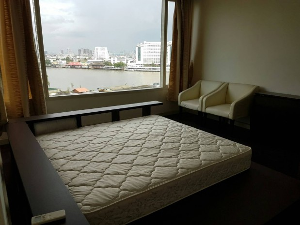 BKKMOVE Agency's Watermark Chaophraya River Condo ,River view low floor 105 sqm 2 bedroom 2 bathroom for rent/sale well price! 2