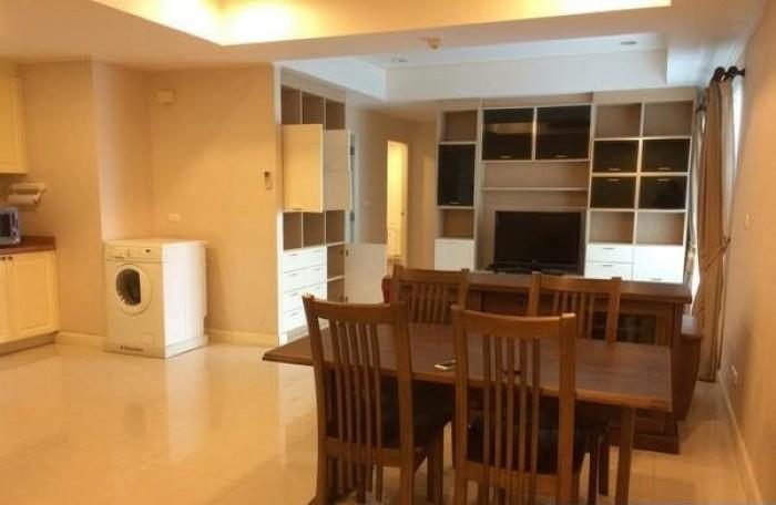 BKKMOVE Agency's 85sqm Low Rise, Convenient Two Bedrooms Apartment to let at La Vie En Rose 3