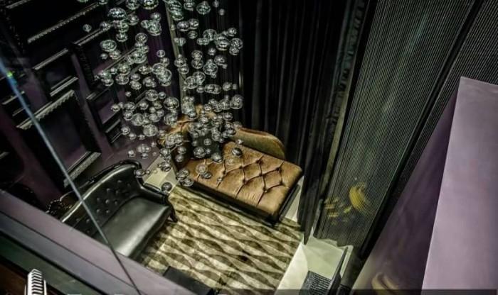 BKKMOVE Agency's Stylish Duplex Classic Modern Chic Decor Unit East Building 10-11Fl.  Luxury 1bed 1 bath Duplex 73 sqm Unblock View, High-end Location, building and Decoration. Rare Item. 8