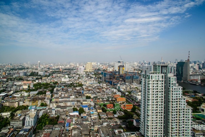 BKKMOVE Agency's 120sqm Spacious, Brand New Three Bedrooms Condo for rent at Urbano-Absolute Sathorn Taksin 1