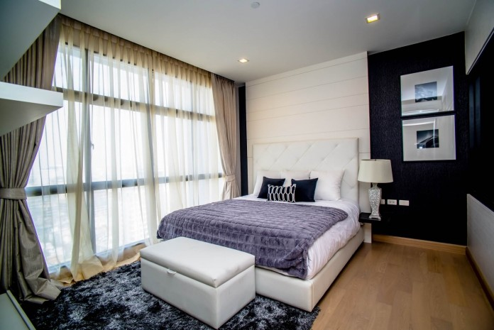 BKKMOVE Agency's 120sqm Spacious, Brand New Three Bedrooms Condo for rent at Urbano-Absolute Sathorn Taksin 11
