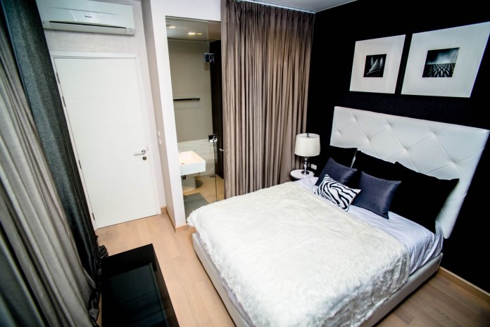 BKKMOVE Agency's 120sqm Spacious, Brand New Three Bedrooms Condo for rent at Urbano-Absolute Sathorn Taksin 8