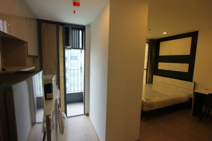 BKKMOVE Agency's 24sqm High Rise, Well price Studio Apartment for rent at Ideo Q Chula 4