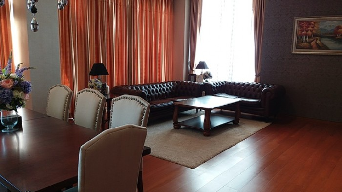 BKKMOVE Agency's 240sqm Elegant, Luxury Three Bedrooms Duplex Condo for rent at The Sukhothai Residence 6