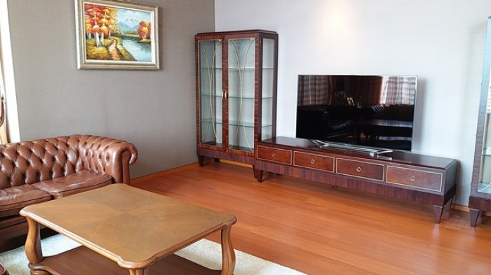 BKKMOVE Agency's 240sqm Elegant, Luxury Three Bedrooms Duplex Condo for rent at The Sukhothai Residence 4