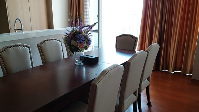 BKKMOVE Agency's 240sqm Elegant, Luxury Three Bedrooms Duplex Condo for rent at The Sukhothai Residence 7