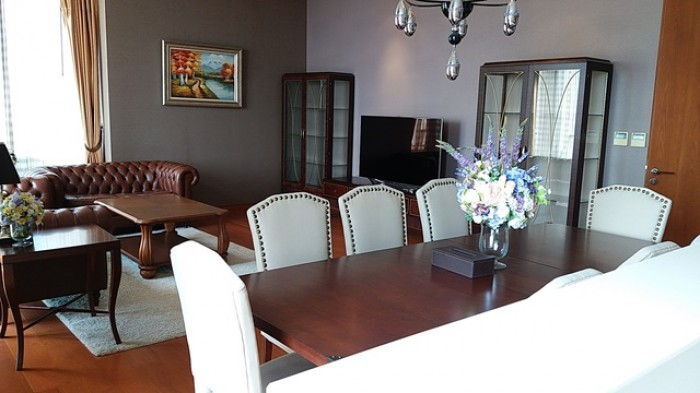 BKKMOVE Agency's 240sqm Elegant, Luxury Three Bedrooms Duplex Condo for rent at The Sukhothai Residence 8