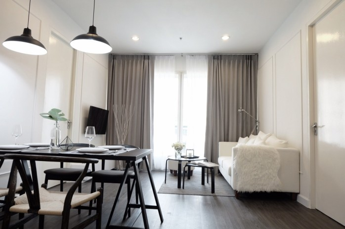 BKKMOVE Agency's For Rent the address Chitlom 73 sqm 2bed 2bath fully furnished Rent 55,000 a month 9