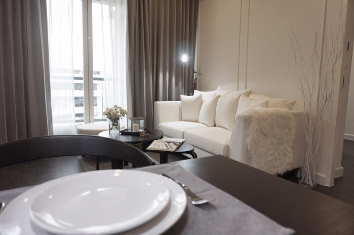 BKKMOVE Agency's For Rent the address Chitlom 73 sqm 2bed 2bath fully furnished Rent 55,000 a month 1