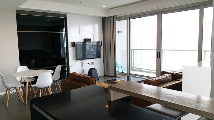 BKKMOVE Agency's The River Condo Charoenakorn 109.76sqm 2b/2b Fully furnished For Rent 75,000 a month 8