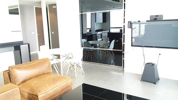 BKKMOVE Agency's The River Condo Charoenakorn 109.76sqm 2b/2b Fully furnished For Rent 75,000 a month 4