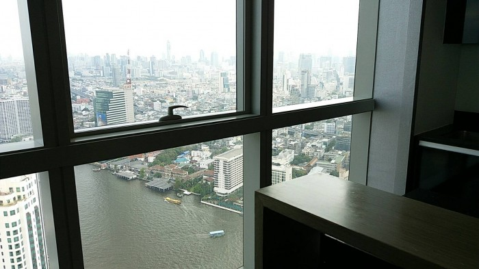 BKKMOVE Agency's The River Condo Charoenakorn 109.76sqm 2b/2b Fully furnished For Rent 75,000 a month 1
