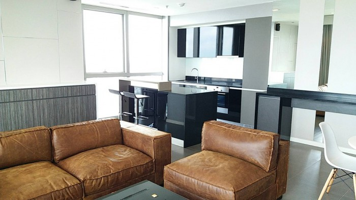 BKKMOVE Agency's The River Condo Charoenakorn 109.76sqm 2b/2b Fully furnished For Rent 75,000 a month 5